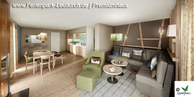 Haustyp Premiumhaus Centerparc Allgäu Leutkirch