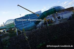 Aqua Mundo Aquacrater Wasserrutsche Centerparc Allgäu Ferienpark Leutkirch