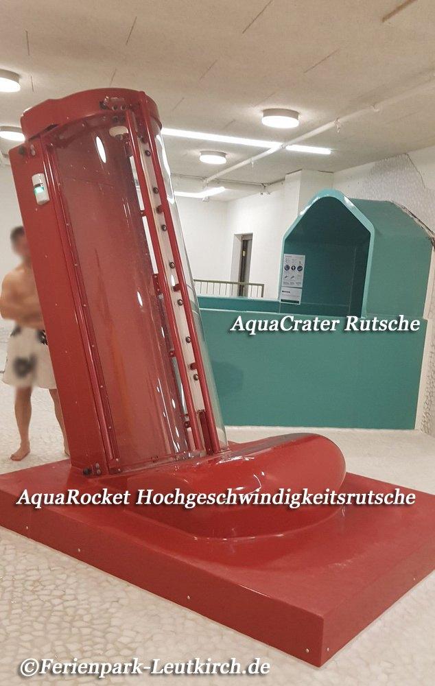 Aqua Mundo Wasserrutschen Centerparc Allgäu Ferienpark Leutkirch