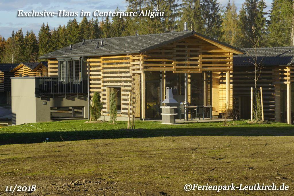 Exclusive-Haus im Centerparc Allgäu Ferienpark Leutkirch
