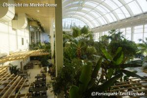Übersicht Market Dome Centerparc Allgäu Ferienpark Leutkirch