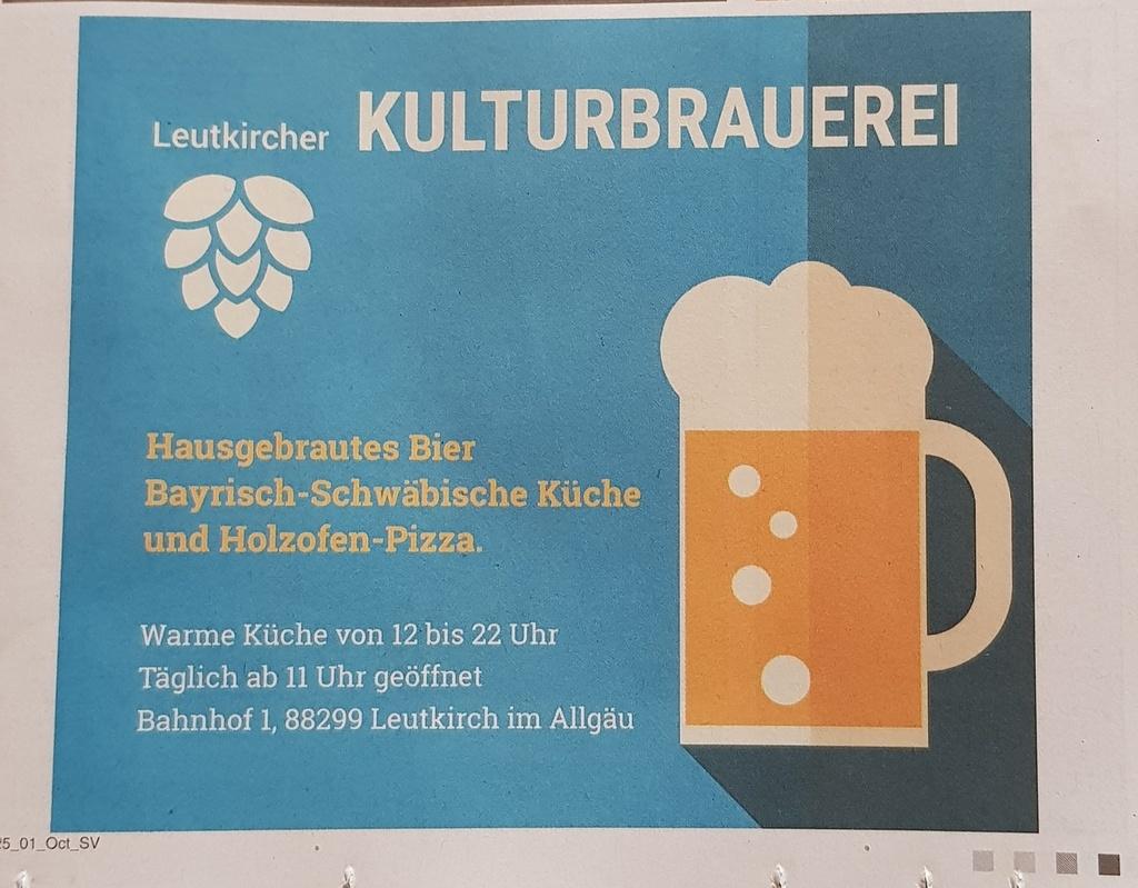 Kulturbrauerei Leutkirch im Allgäu