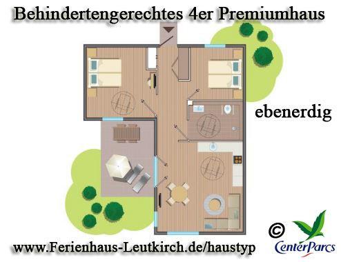 Behindertengerechtes 4er Premiumhaus