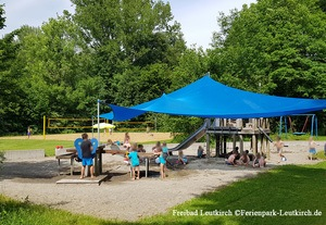 Freibad Leutkirch Wasserspielplatz